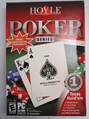 Video Game PC Hoyle Poker Series 14 games 2005 NEW SEALED BOX