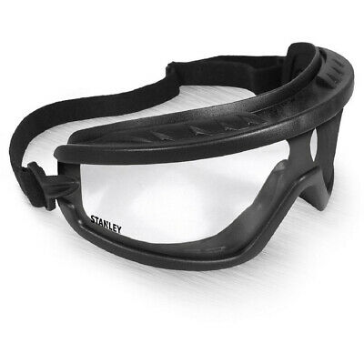 Stanley Mens Stanley Basic Adjustable Durable Safety Goggles