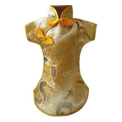 Embroidery Anti Dust Chinese Style Wine Bottle Cover Tang Dress Dinner Home