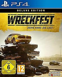 Wreckfest Deluxe Edition [Playstation 4] by THQ ... | Game | condition very good