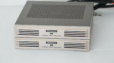 1x PIONEER GM-4 Endstufe - Vintage Car Amplifier