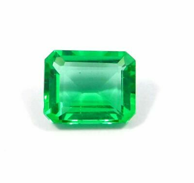 Treated Faceted Emerald Gemstone  17.9CT 18x12mm RM15502