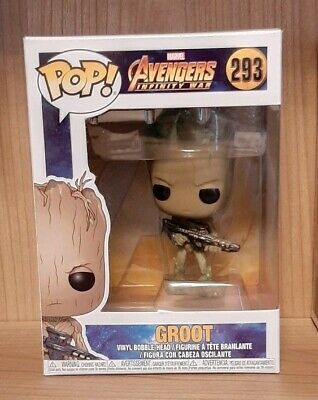 GROOT Marvel: Avengers: Infinity War #293 FUNKO POP VINYL