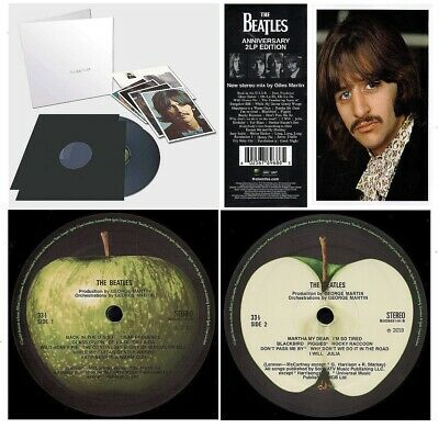 The Beatles (White Album) Double Vinyl 50th Anniversary Edition FACTORY SEALED!