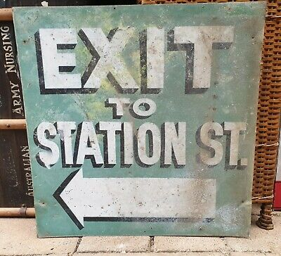 Old Railway sign