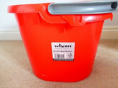 Mop Bucket 16 Litre Capacity and Wringer - New