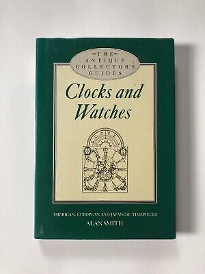 "BOOK The Antique Collector's Guide to ""Clocks and Watches"""
