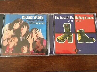 The Rolling Stones Jump Back 1971-1993 + Through The Past Darkly Greatest Hits