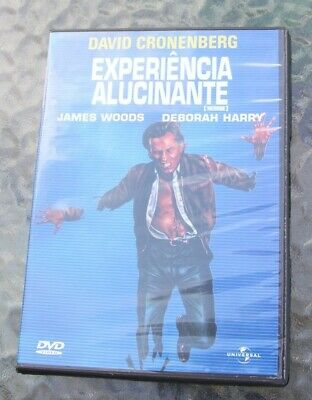 DVD Videodrome, David Cronenberg, Portuguese edition, English audio, region 2