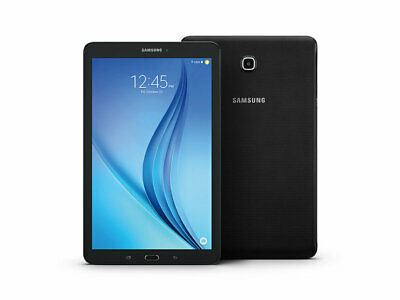 Samsung Galaxy Tab E 32GB U.S. Cellular - Black Tablet microSD Snapdragon GPS