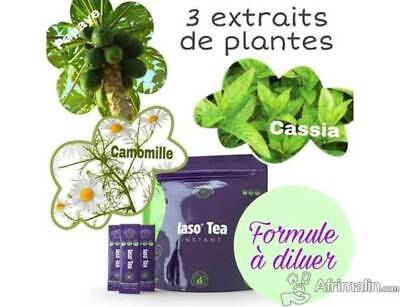 STICK THE DETOX MINCEUR IASO TEA INSTANT TLC (cure 1semaine) Nouvelle formule