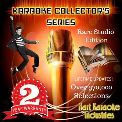 Karaoke Hard  Drive System - Studio Quality - 40 Year Collection -Licensed