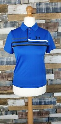 Under Armour Girls Blue Long Sleeved Loose Top Size YMD/28-30 in. Chest