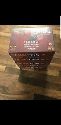 GENUINE Exploding Kittens Card Game Original Edition