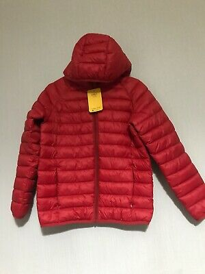 New M&S School Boys Or Girls Padded Jacket 9/10 Years Height 55in