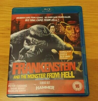 Frankenstein And The Monster From Hell (3-Discs Blu-ray & DVD, 2013)