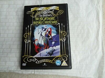 The Nightmare Before Christmas (DVD, 2006)