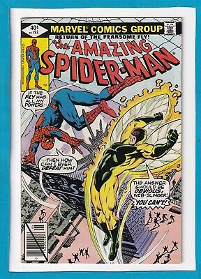 """Amazing Spider-Man #193_June 1979_Very Fine_""""The Return Of The Fearsome Fly""""!"""