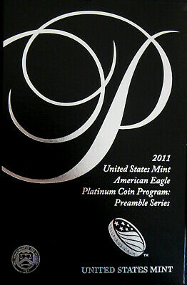 *Price Reduced* 2011 $100 Platinum Eagle *Box Only - No Coin* Complete With Coa