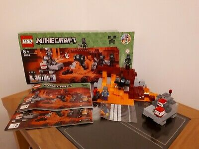 LEGO 21126 Minecraft The Wither 100% Complete Retired Rare Boxed & Instructions