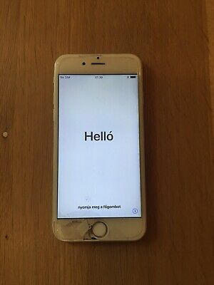 Apple iPhone 6s - 16GB - Silver - Screen Cracked/damaged- Unlocked