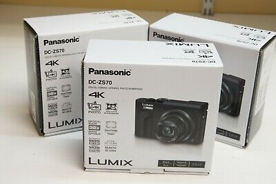 "PANASONIC LUMIX DC-ZS70K 20.3M 4K Camera Touch 3"" LCD 30X LEICA lens USA Version"