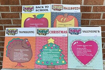 Instructional Fair Holiday Kit Lot Of 5 Books- Complete Resource Guide