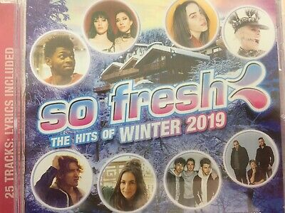 SO FRESH - The Hits Of Winter 2019 - Various CD 2019 Sony BRAND NEW!