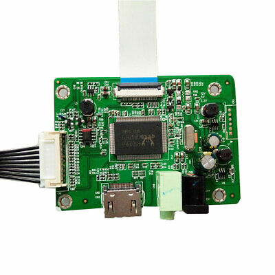 1080P HDMI To EDP Replacement LCD Screen Controller Board LED Indicator Audio