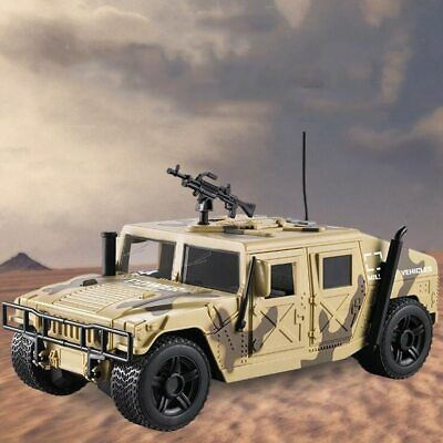 Hummer 1/16 Scale Diecast Military Army Humvee Battlefield Vehicle Model Toys