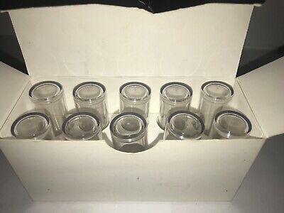 NEW IN BOX Mary Kay 10 Clear Lipstick Display Caps