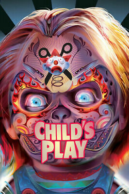 Child's Play 2019 Classic Horror Movie Series Fabric Poster Home Decor H-110