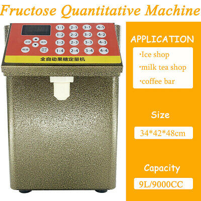 Automatic Fructose Quantitative Machine Bubble Tea Equipment Syrup Dispenser110V