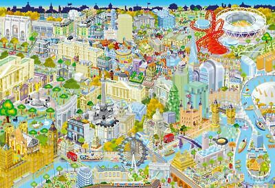 Gibsons London from Above Jigsaw Puzzle (500 Pieces) - DAMAGED