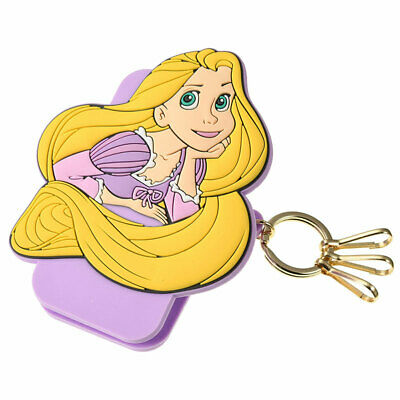 Tangled Rapunzel & Pascal Keychain Key Holder with Clip Disney Store Japan