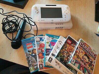 Wii U complete with 6 games