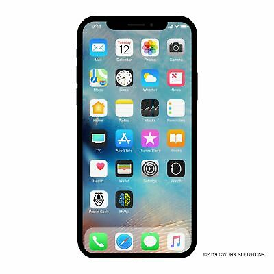 Apple iPhone X a1901 64GB AT&T T-Mobile GSM Unlocked -Good