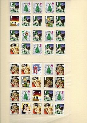 mid to high value unfranked stamps off paper f/v £88.62 (peelable)