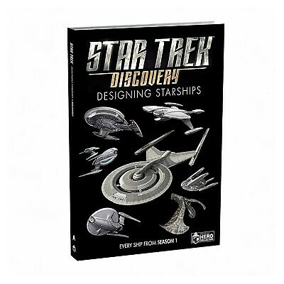 Star Trek Discovery Designing Starships Book - ONLINE EXCLUSIVE