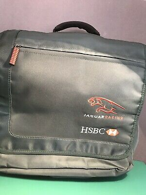 F1 Jaguar Laptop Bag Racing Green
