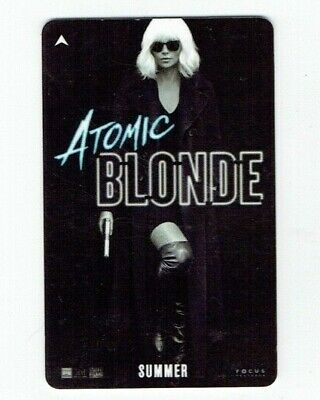 Atomic Blonde CAESARS PALACE Room KEY Casino LAS VEGAS Hotel - Charlize Theron