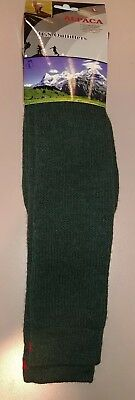 Peruvian Alpaca Unisex Winter Socks New Size Large