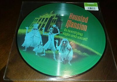 "LP Disney Parks The Haunted Mansion NEW/SEALED 12"" Picture Disc Vinyl Record OOP"