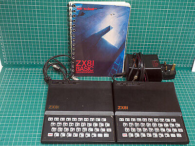 Two Sinclair ZX81 Computers