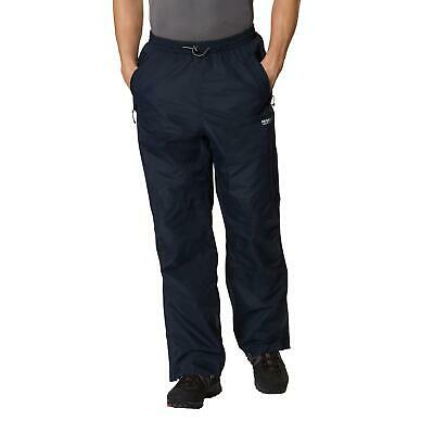 Regatta Mens Chandler III Waterproof Over Trousers Lined Packable Overtrousers
