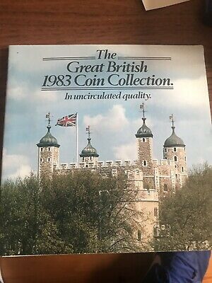 1983 The Great British Coin Collection ~ Uncirculated Coin Set
