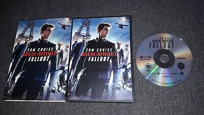 MISSION IMPOSSIBLE - FALLOUT - Tom Cruise, Henry Cavill, Rebecca Ferguson (DVD)