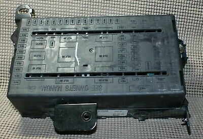 05-07 Ford F-250 350 450 550 Excursion Super Duty Fuse Box 5C3T-14A067-AD