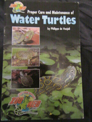 Water Turtles/Reptile Care And Maintenance Information Book/Fiction