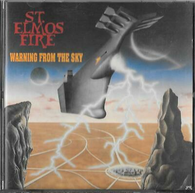 ST. ELMO'S FIRE - Warning From The Sky Cd ORG !!! 1988 Bellaphon – 290.07.114